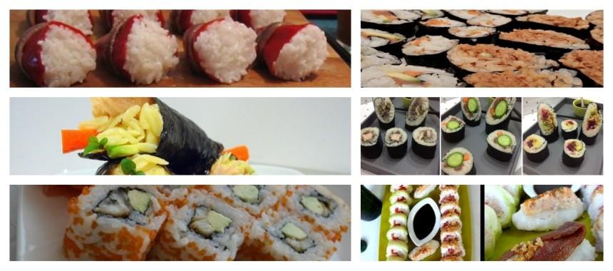 6 recetas de sushi con conservas de pescado