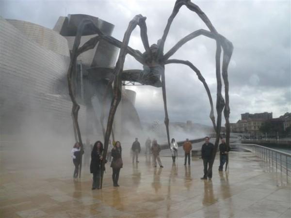 Equipo de Conservas Serrats en Guggenheim