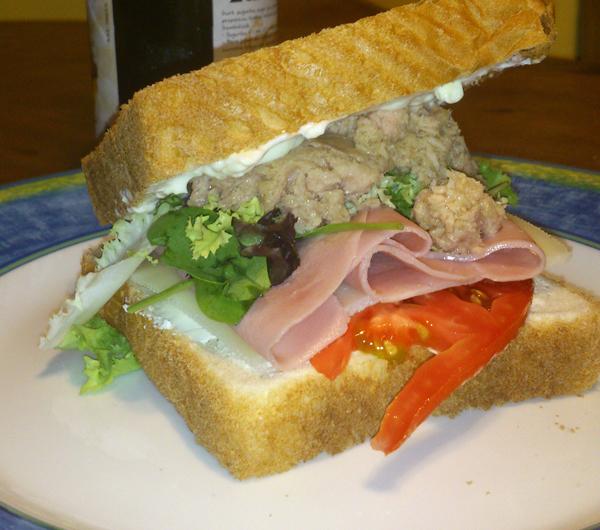 Sandwich veraniego