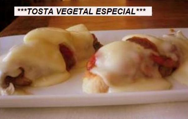 Tosta vegetal especial con bonito del norte de Conservas Serrats