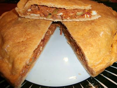 Empanada de atún sin gluten