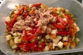 Aliñar la ensalada